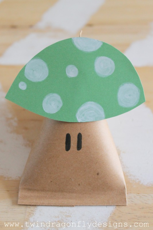 Power Up Mushroom Party Favors