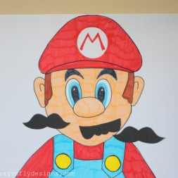 Pin the Moustache on Mario