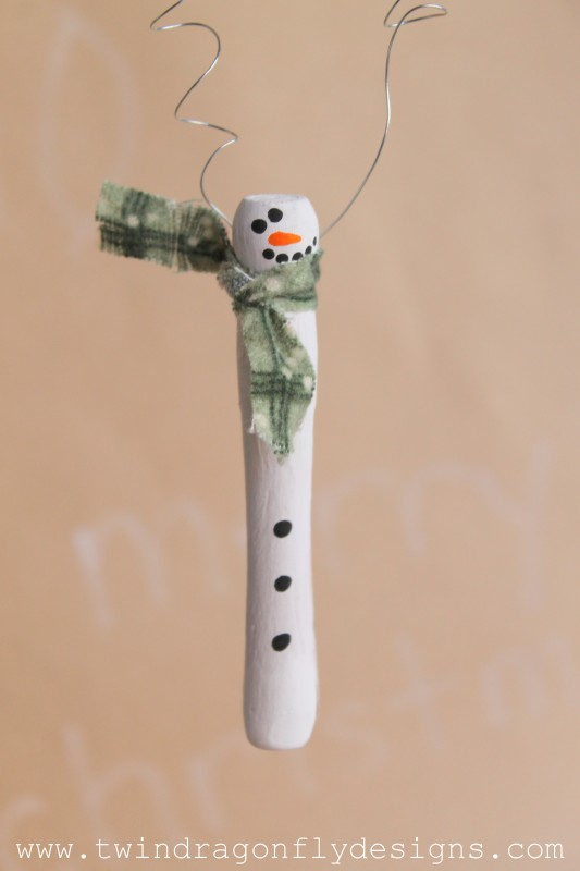 Wooden Snowman Ornament and Cricut Explore Giveaway