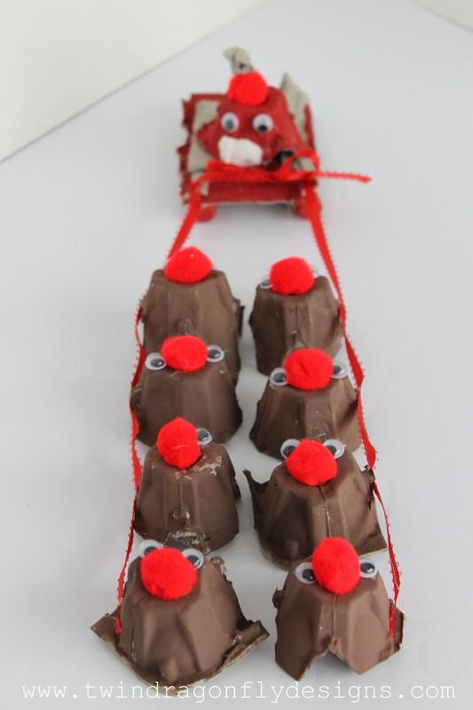 egg carton reindeer-003