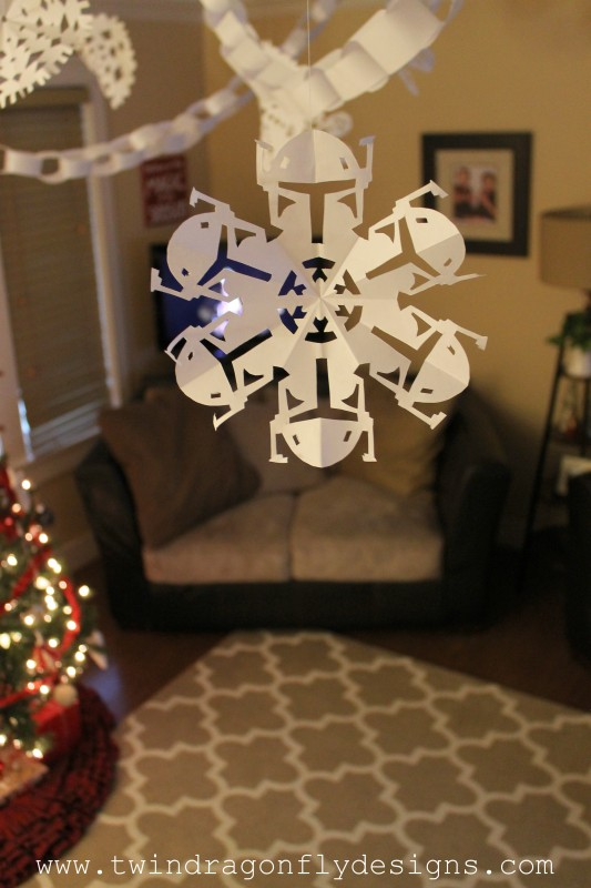 Decorate with Star Wars Snowflakes-002