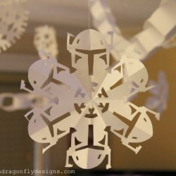 Decorate with Star Wars Snowflakes