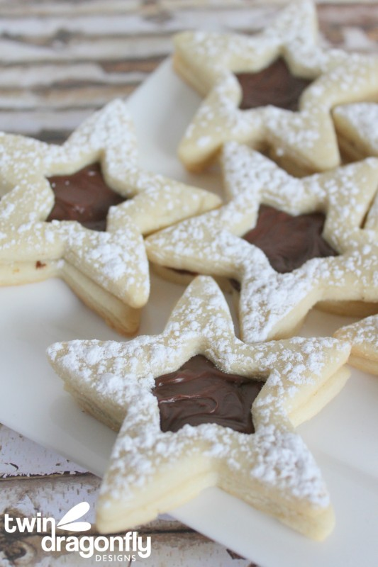 Nutella Sable Cookies Recipe