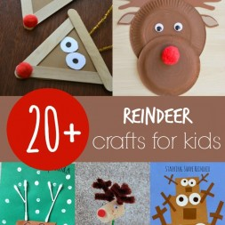 20+ Reindeer Crafts for Kids