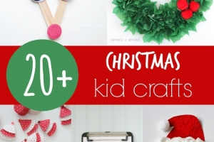 20+ Christmas Crafts for Kids
