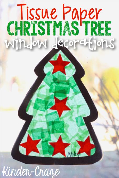 tissue-paper-xmas-tree-window-decorations
