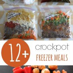 12+ Crockpot Freezer Meals