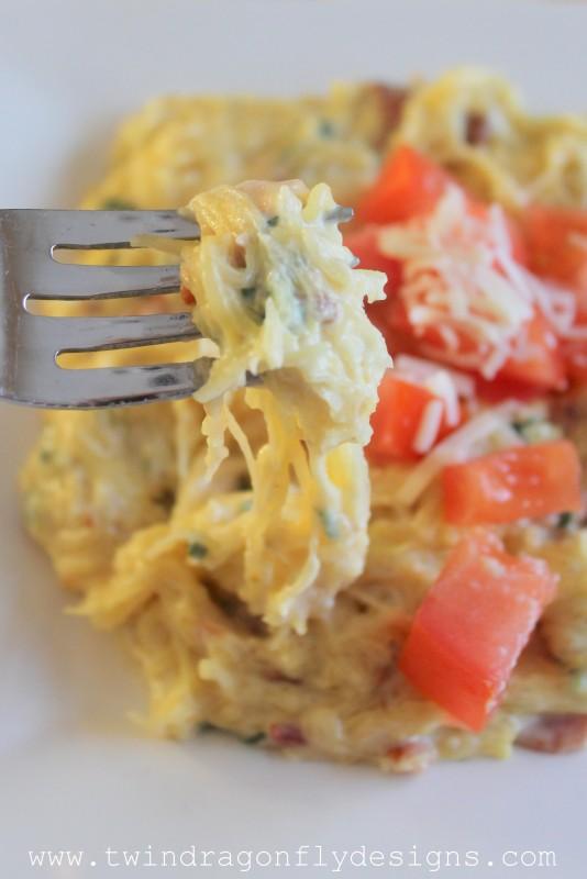 Creamy Spaghetti Squash Dinner-013