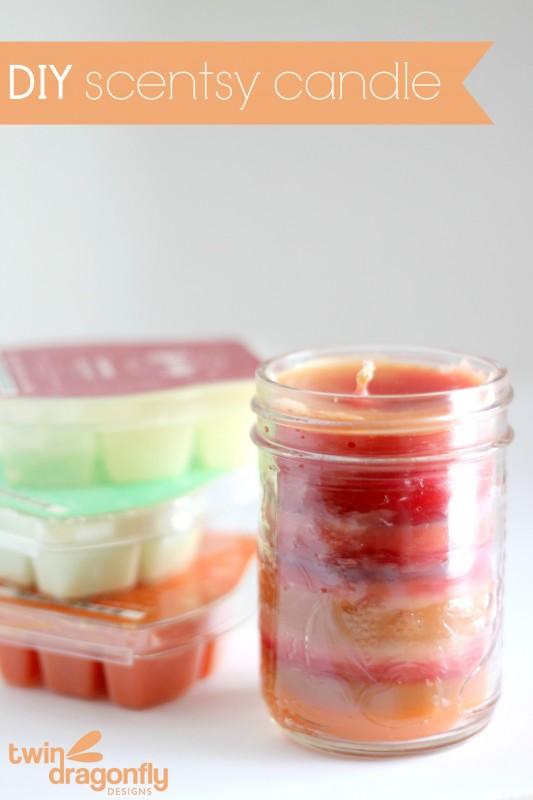 DIY Scentsy Candle