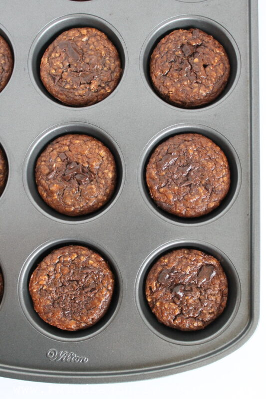 Oatmeal and Banana Muffins-002