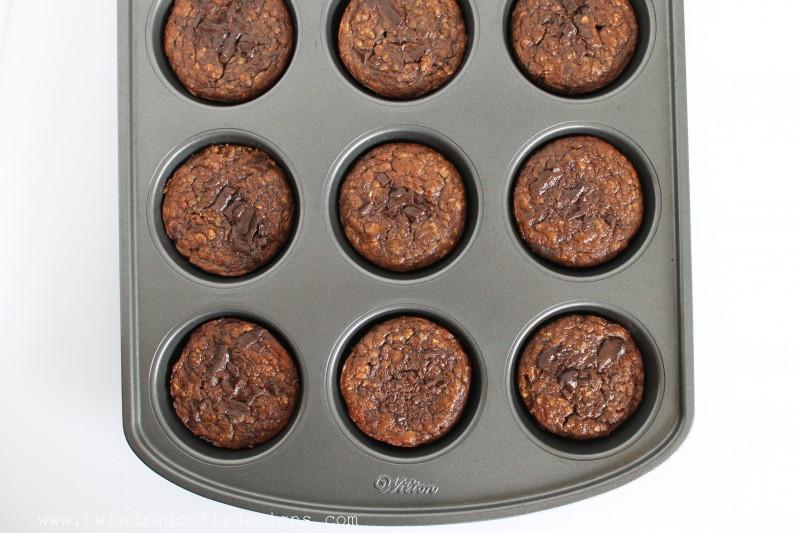 Chocolate Oatmeal and Banana Muffin Recipe