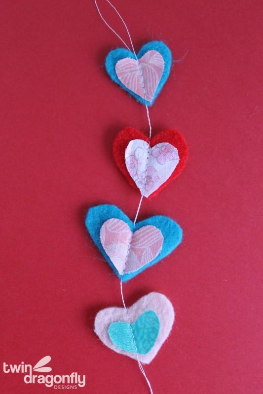 Valentine Felt Gift Tags