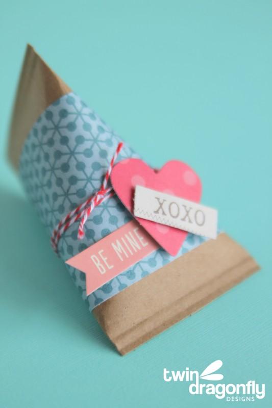 Valentine Sour Cream Containers
