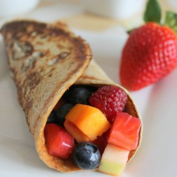 3 Ingredient Banana Crepes