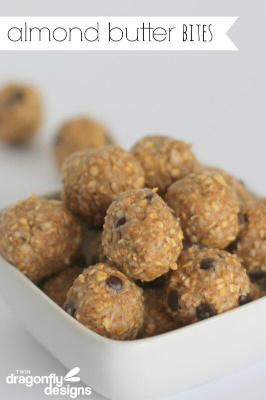 Almond Butter Bites Recipe