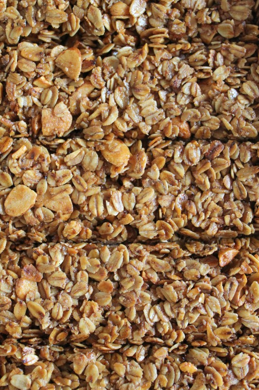 Crunchy Granola Bar Recipe