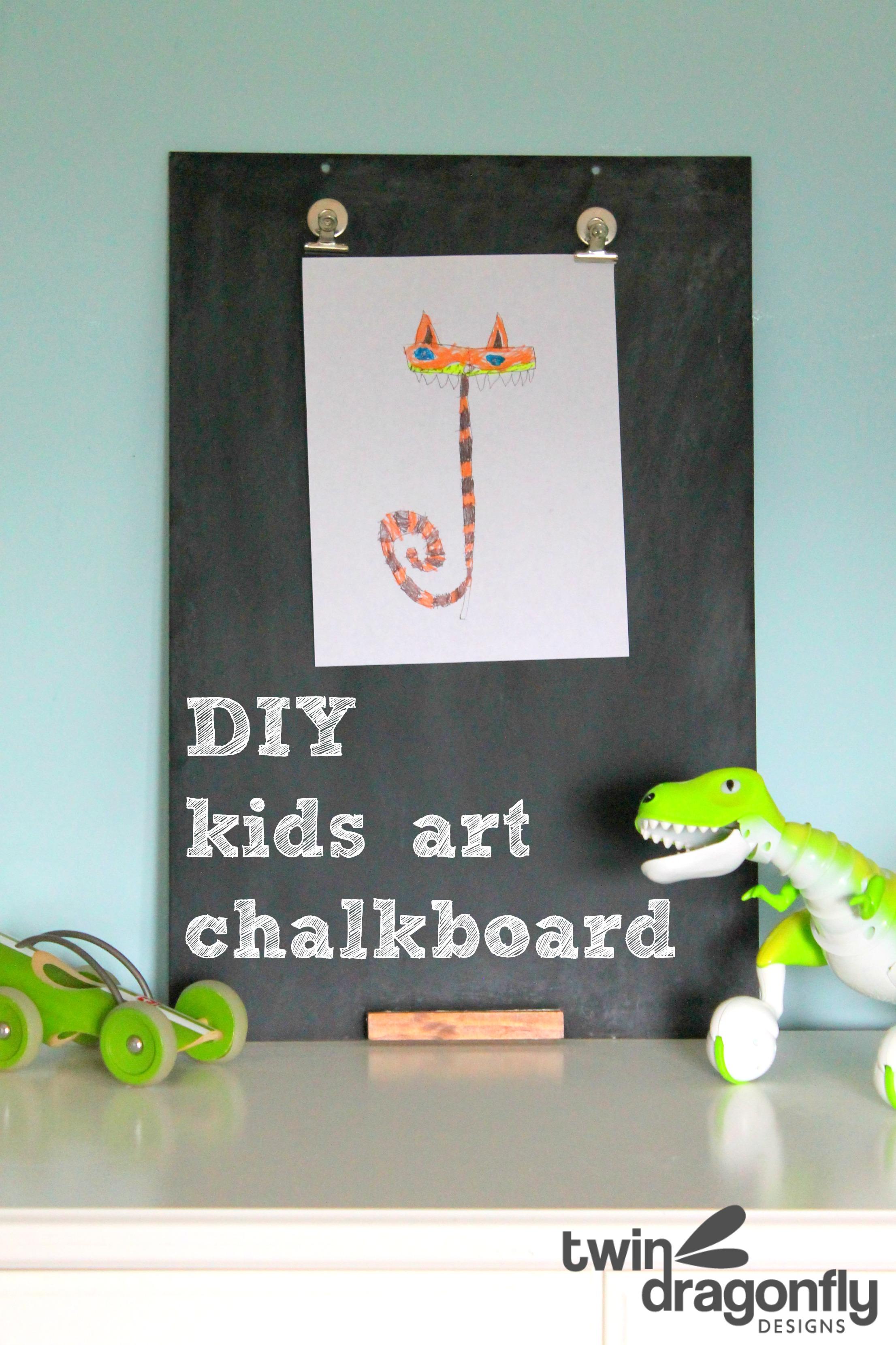 Diy Kids Art Chalkboard 187 Dragonfly Designs