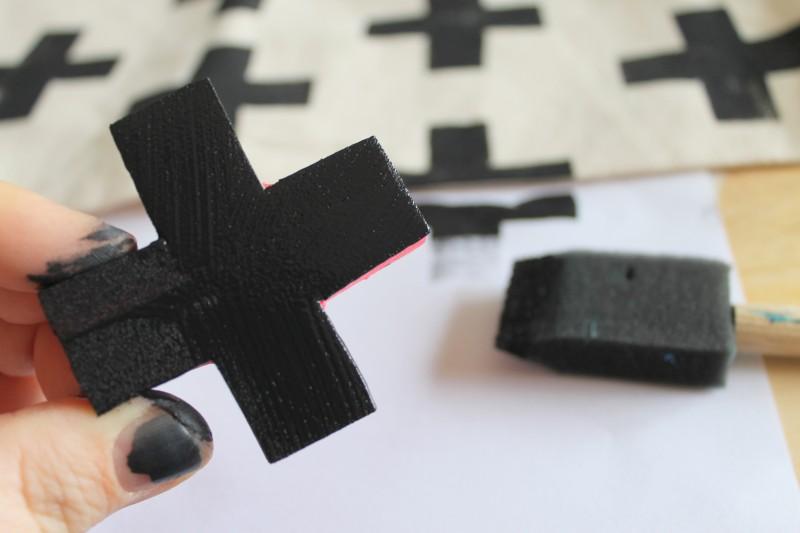 DIY Laptop Sleeve Cross