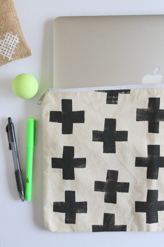 DIY Laptop Sleeve