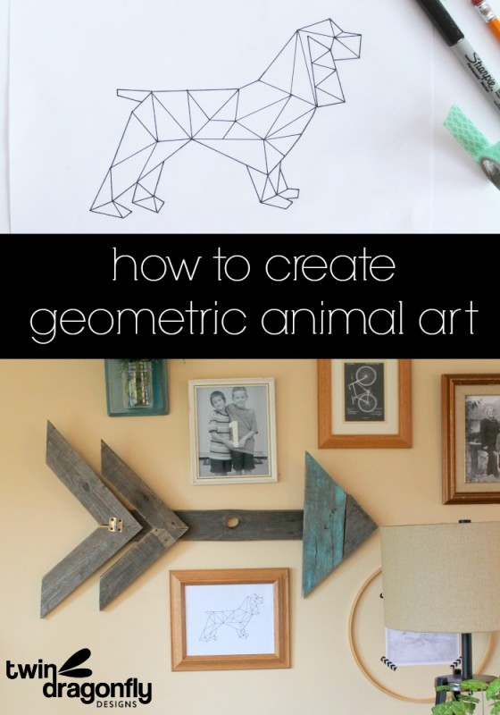 How to Create Geometric Animal Art