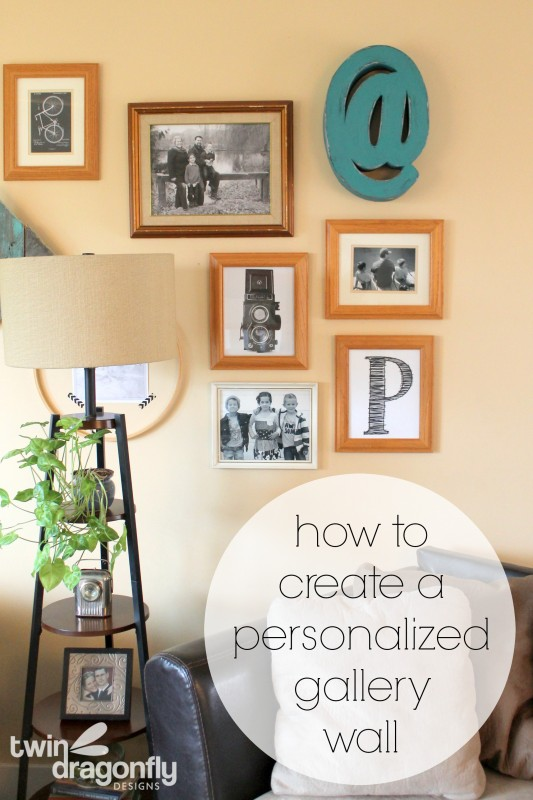 How to create a personalized gallery wall
