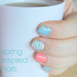 DIY Manicure Station and Spring Inspired Nails