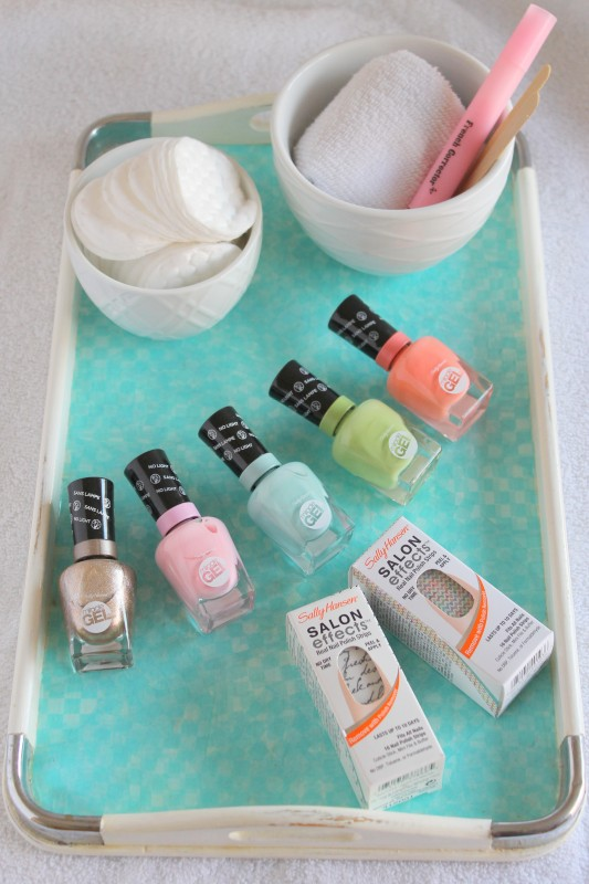 Spring Manicure and DIY Spa