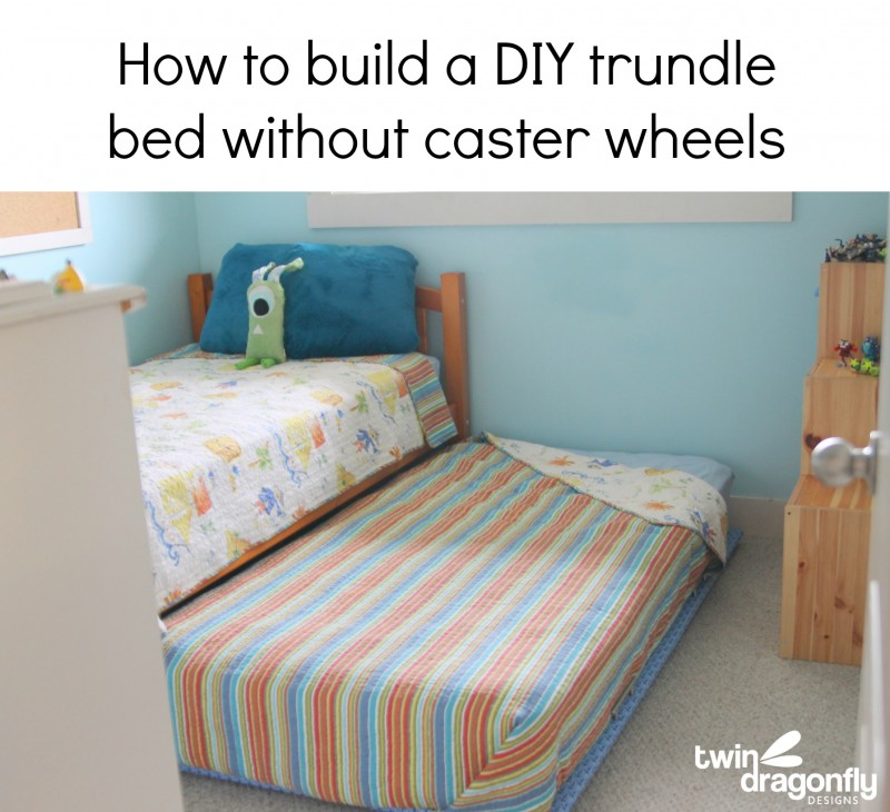 Build a Bunk Bed With Trundle