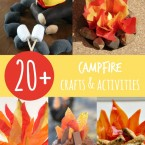 20+ Campfire Crafts & Activities