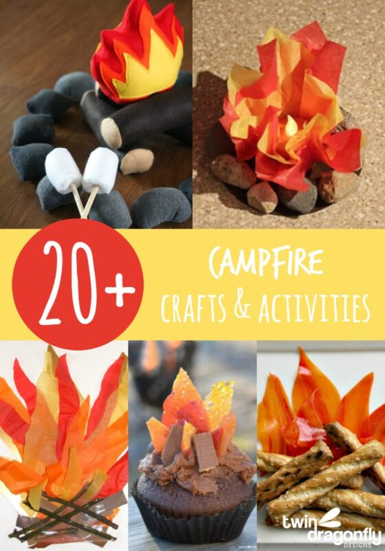 20+ Campfire Crafts & Activities