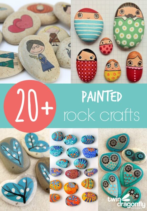 20 Painted Rock Crafts