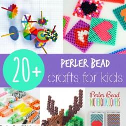 20+ Perler Bead Crafts for Kids