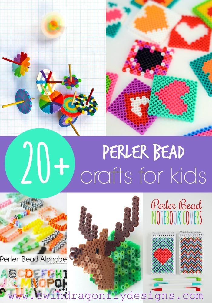20 perler bead crafts 187 dragonfly designs