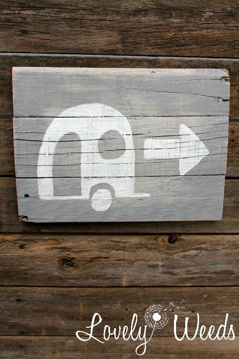 Camper Sign 5w