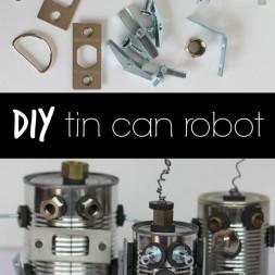 DIY Tin Can Robot