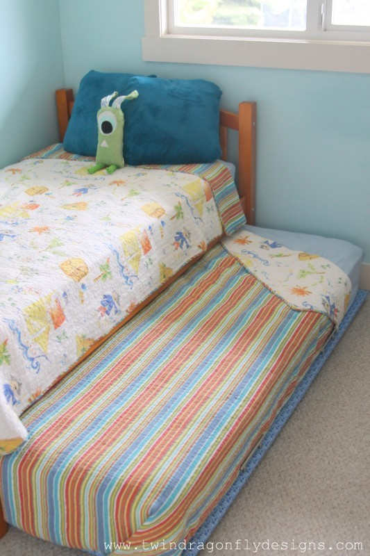 How To Build A Diy Trundle Bed Homemade Heather