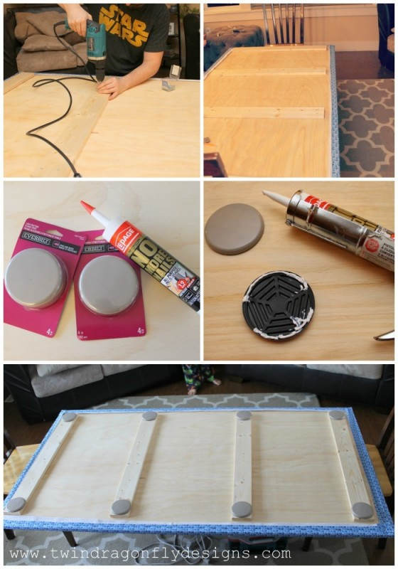 DIY Trundle Bed Step 2