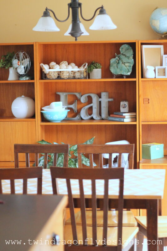Dining Room Shelving