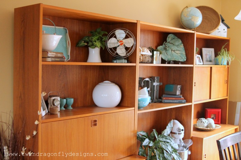 Unique Mid Century Modern Wall Unit
