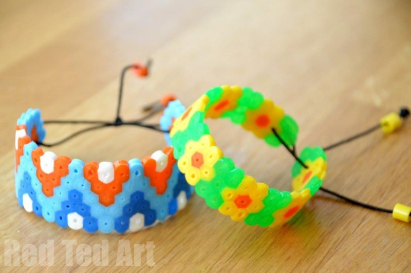 20 perler bead crafts dragonfly designs for How to make beads craft