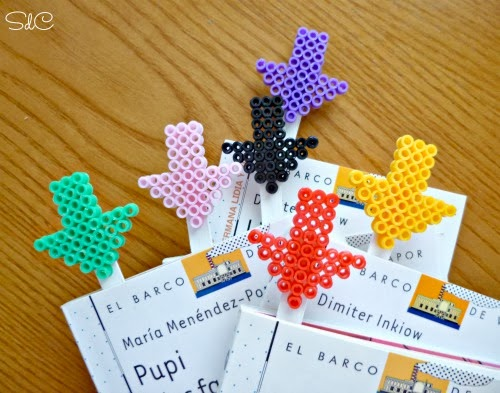Perler Bead Bookmarks