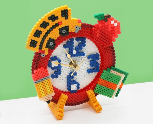 Perler Bead Clock