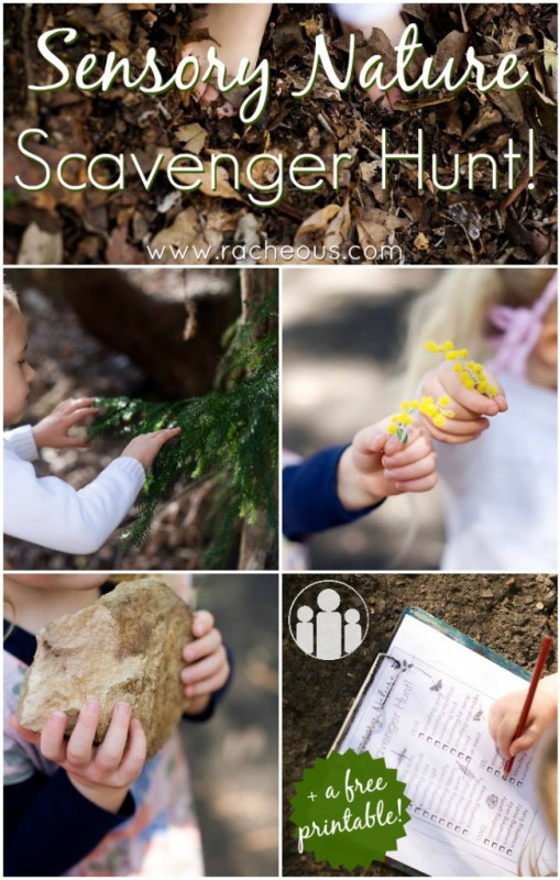 Sensory-Nature-Scavenger-Hunt-with-free-printable-Racheous-Lovable-Learning