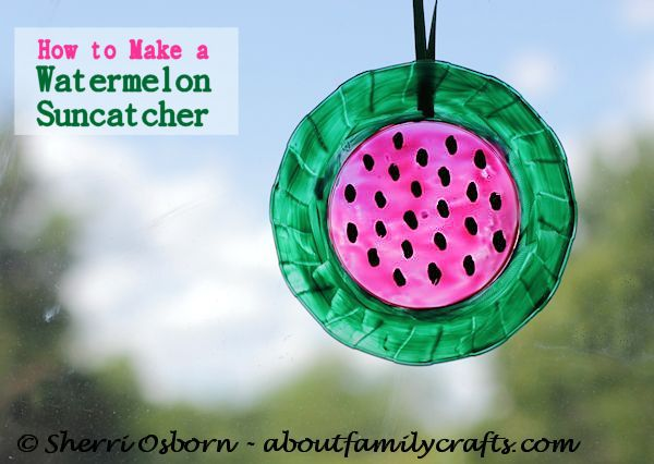 how-to-make-watermelon-suncatcher