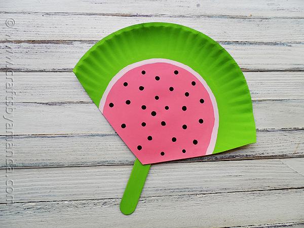 paper-plate-watermelon-fan