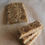 Coconut Date Bars Nut Free