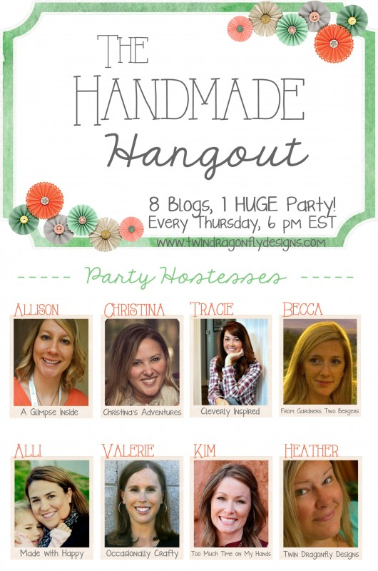 Handmade Hangout Link Party!!