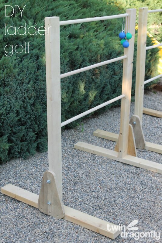 DIY Ladder Golf Game