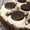 Mint Oreo No Bake Cheesecake