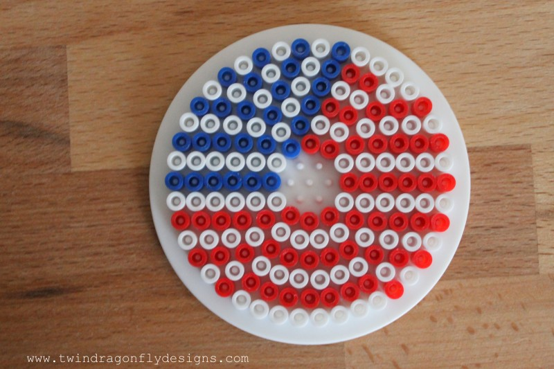 Patriotic Perler Bead Cup Cover-005